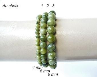 collier jade vert homme