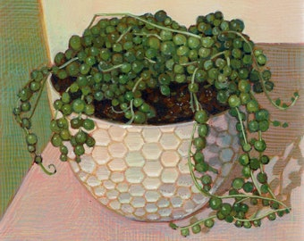 String of Pearls Glicee Print