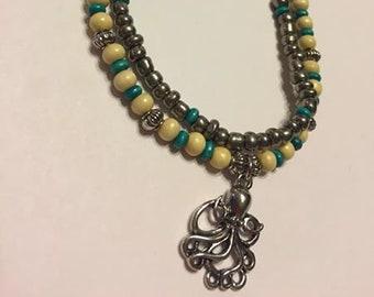 Octopus Ankle bracelet