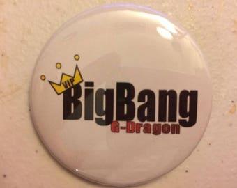 BigBang G-Dragon Button
