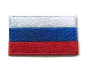 SOUTH OSSETIA RUSSIA FLAG PATCH patches backpack BADGE IRON ON EMBROIDERED