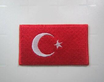 turkish flag etsy