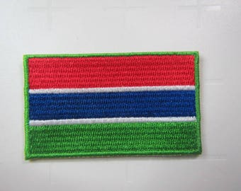 Gambian Flag – National Flag of Gambia – United Nations of the World