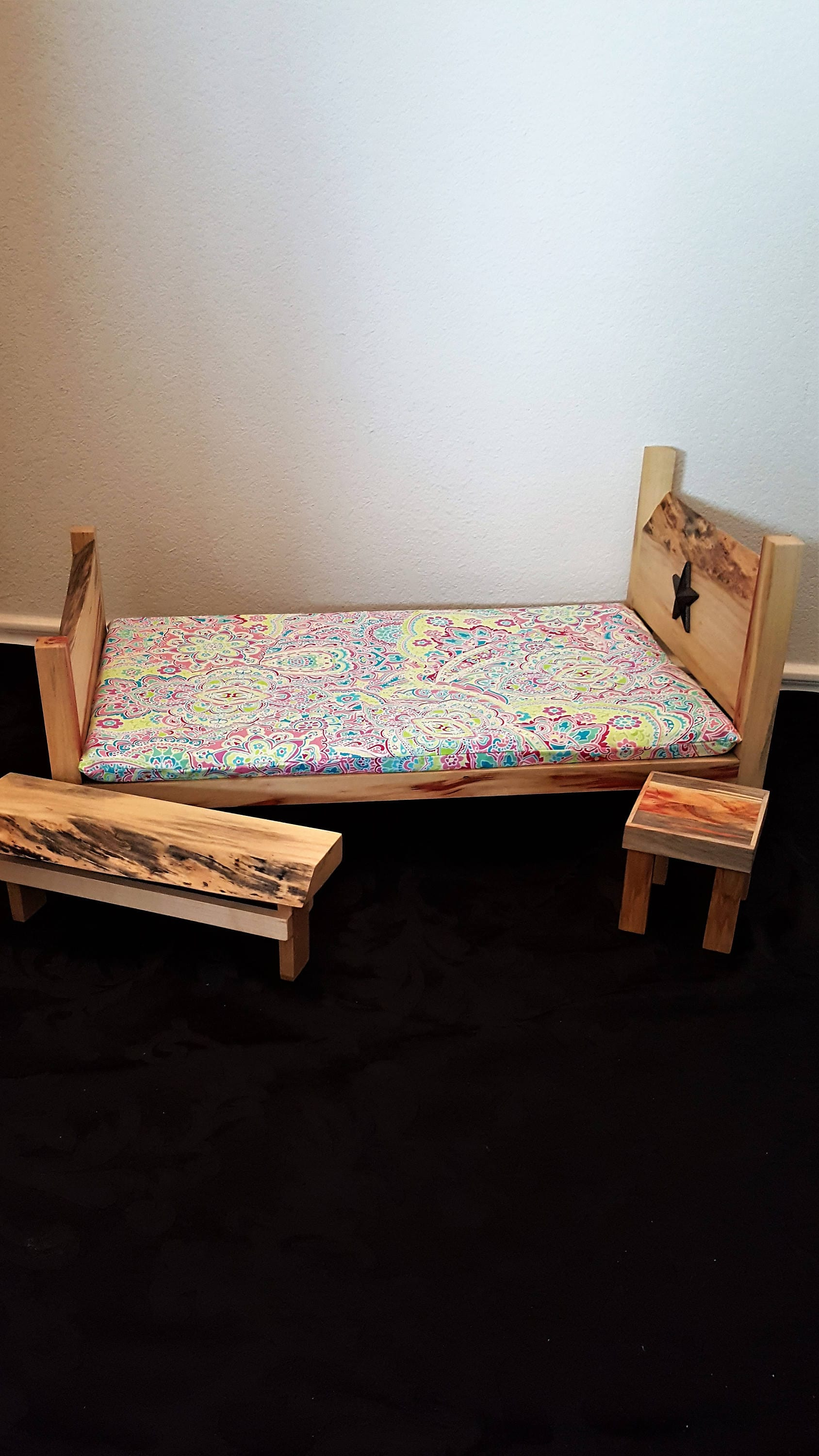 The American Girl Bedroom Set - All Wood, Hand Made --------- FREE ...