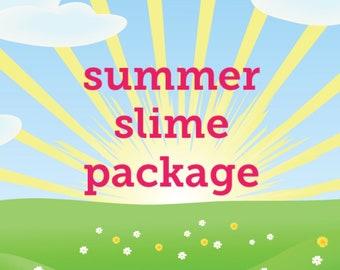 summer slime package