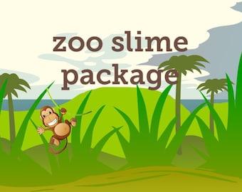 zoo slime package