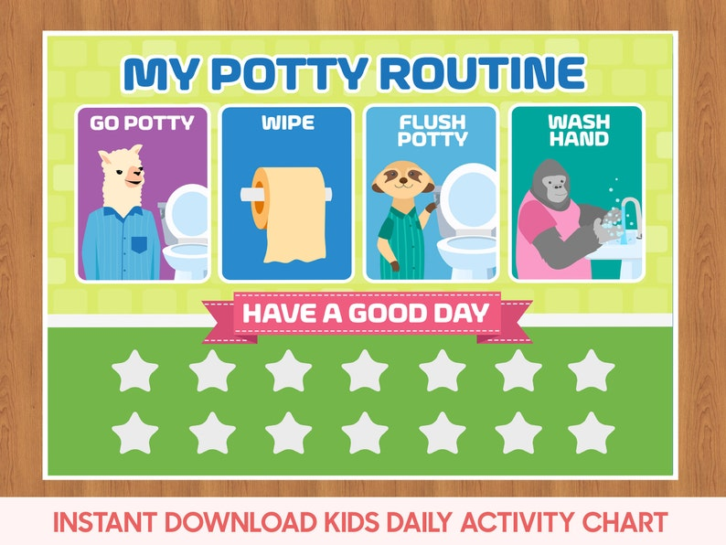 graphic about Potty Training Charts Printable named Potty Chart, Potty Working out Chart, Infant Lavatory Schedule, Potty Visible Guidance, Small children Lavatory Chart, Printable Potty Schedule Chart, Potty helper