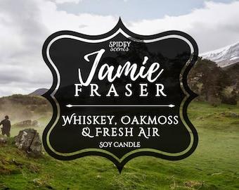 Jamie Fraser Soy Candle