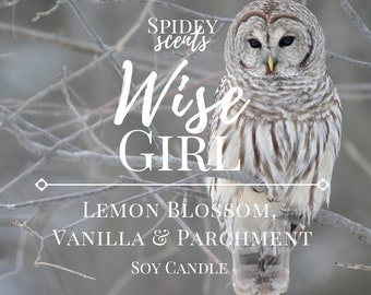 Annabeth - Wise Girl Soy Candle