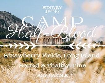 Camp Half-Blood - Rick Riordan Inspired Soy Candle