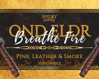 Sky in the Deep - Ond Eldr - Breathe Fire Soy Candle