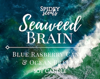 Percy Jackson - Seaweed Brain Soy Candle