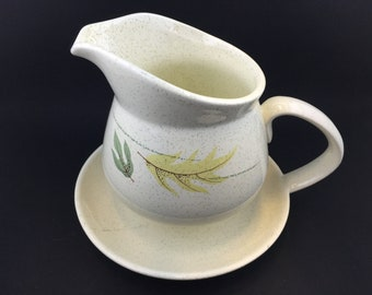 Franciscan Autumn Fast Stand Gravy Sauce Boat