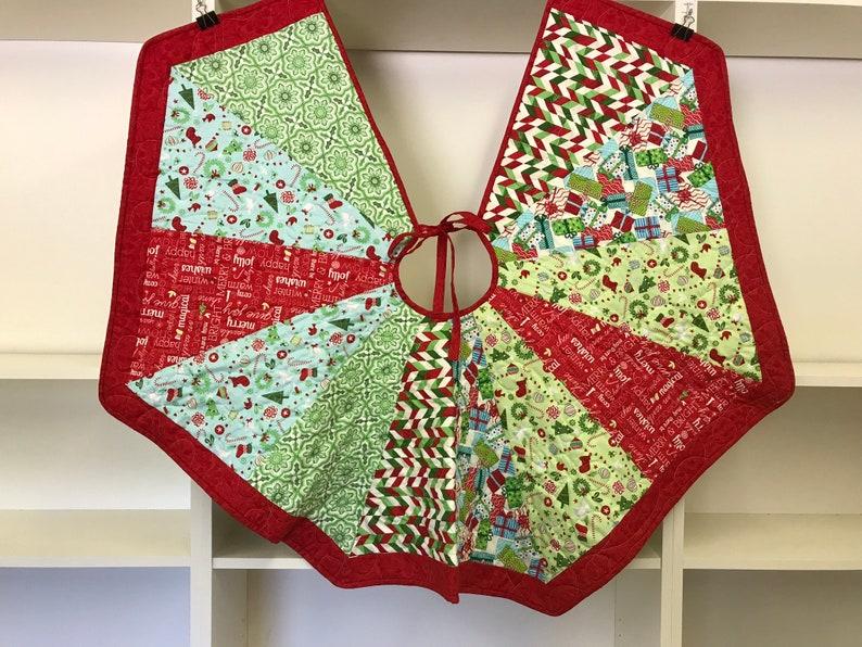 46\u201d Christmas Tree Skirt Brights