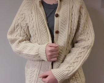 d6334238d Hand knit cardigan