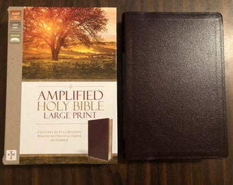 Large print bible   Etsy
