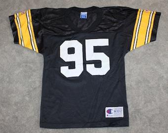 new product f70cd a9fbc 90s steelers jersey | Etsy