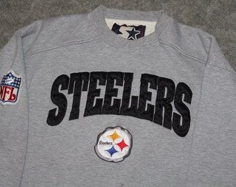 5cbfafd1b5b Vintage 90s Clothing NFL Pittsburgh Steelers Football Starter Men Size  Medium / Oversized Womens Retro Logo Long Sleeve Crewneck Sweatshirt
