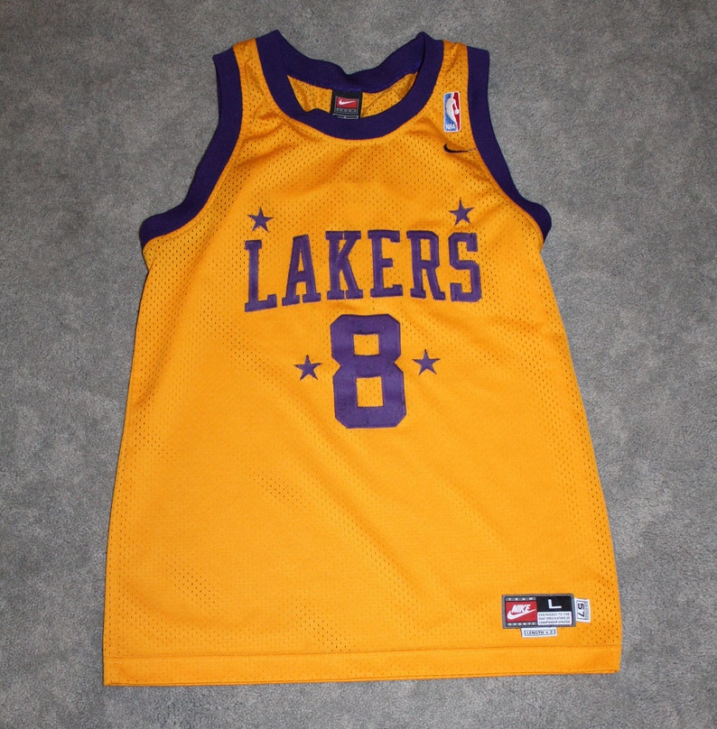 c667479aa1f Vintage 90s Clothing NBA Los Angeles Lakers Basketball Kobe