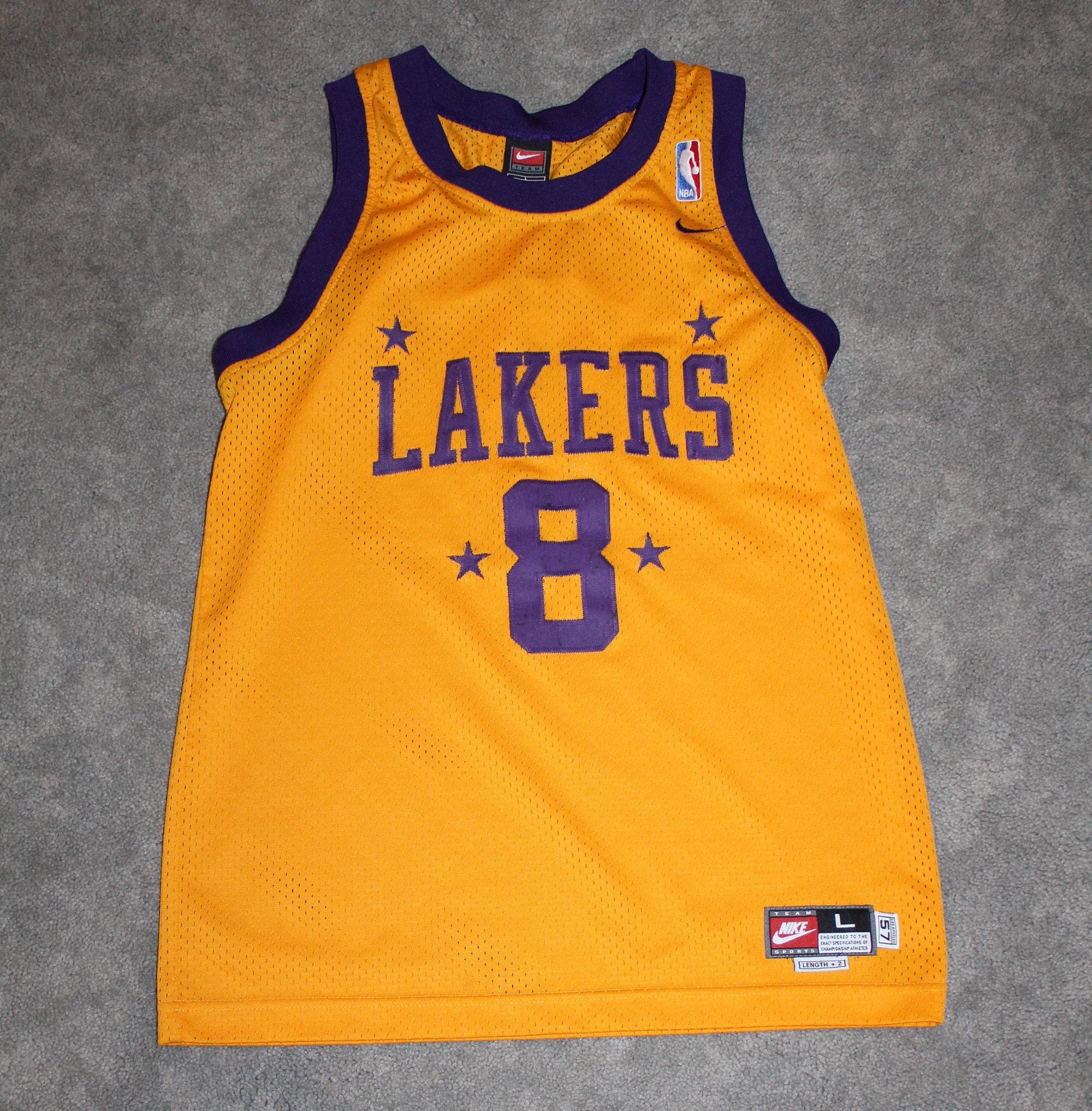 294f983bfd1 Vintage 90s Clothing NBA Los Angeles Lakers Basketball Kobe | Etsy