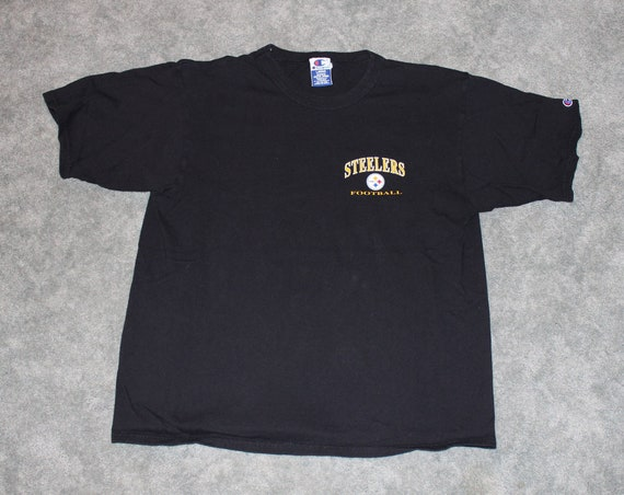 0d11d4cd3 Vintage 90s Clothing NFL Pittsburgh Steelers Football Champion