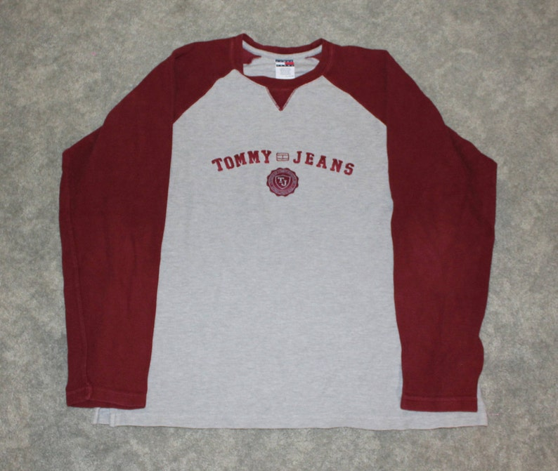 53c70b2c9 Vintage 90s Clothing Tommy Hilfiger Jeans Men Size XL or | Etsy