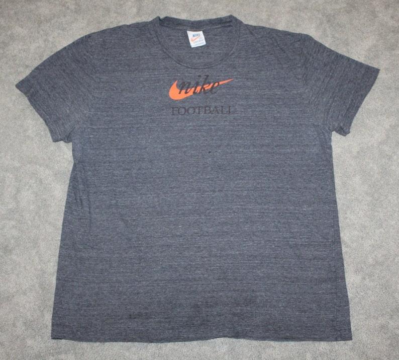 Mens NIKE Shirt NEW Blue Short Sleeve Swoosh Logo Size XXL