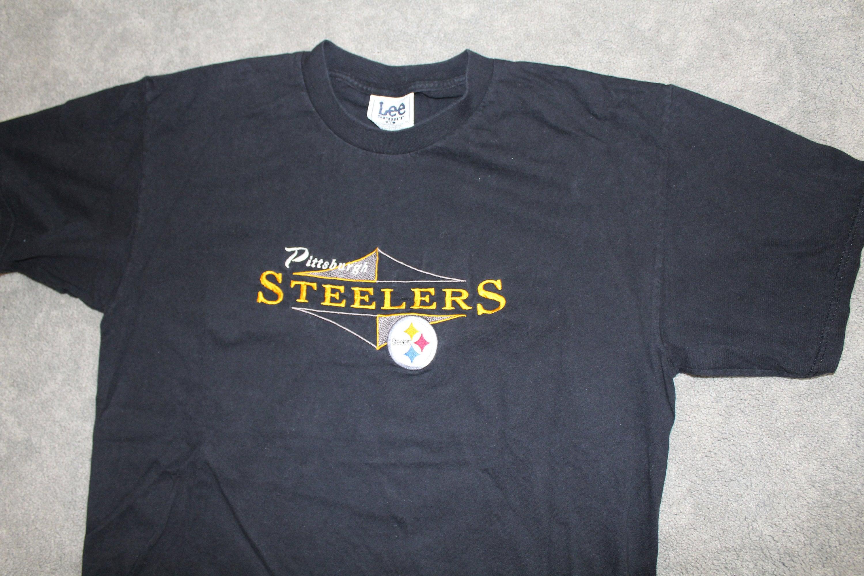 af77fdf654f Vintage 90s Clothing NFL Pittsburgh Steelers Football Lee   Etsy
