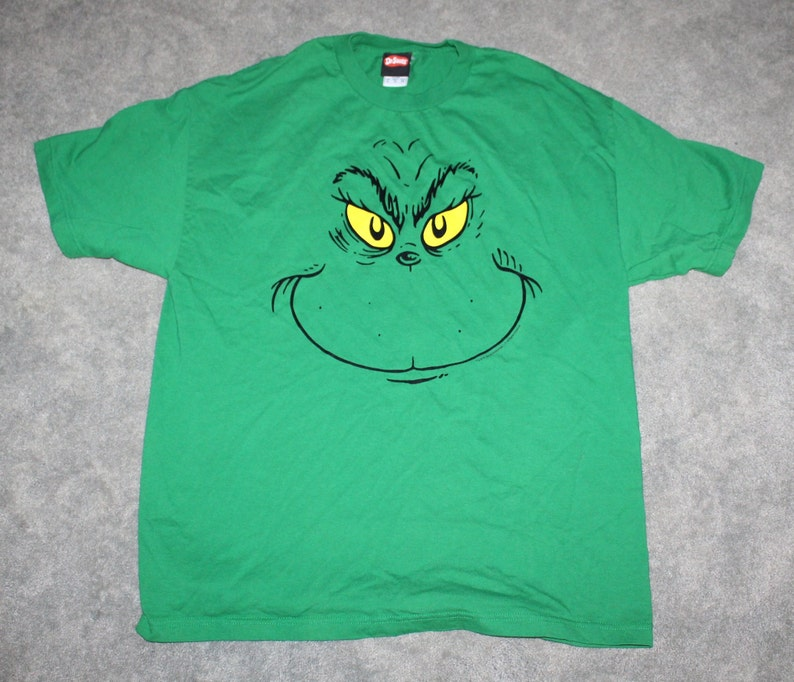 Vintage 2000s Clothing How the Grinch Stole Christmas Dr Seuss  4631a08ba