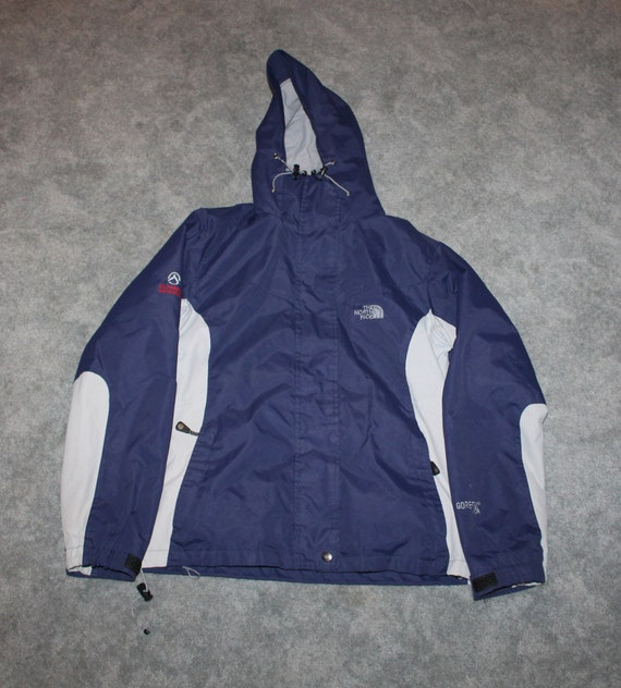 Vintage 90s Clothing The North Face Gore tex Summit Series Womens Size Medium Retro Embroidered Logo Double Lined Full Zip Winter Jacket