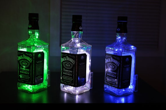 One Jack Daniel S Usb Powered Led Light Glowing Lamp Etsy