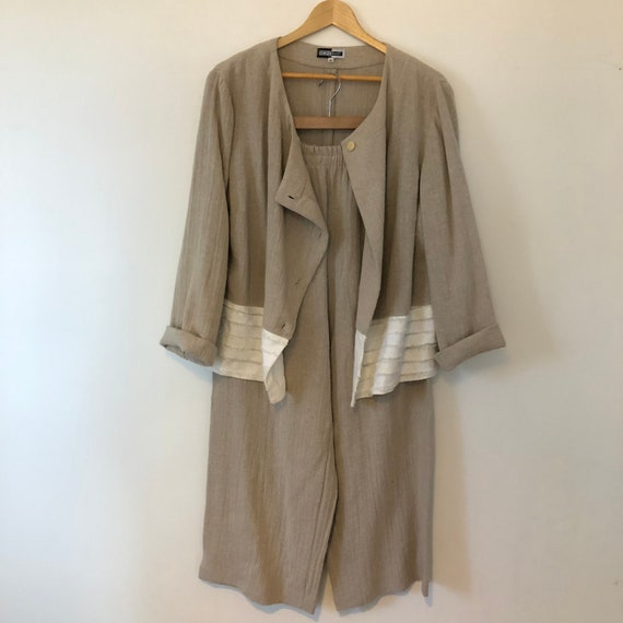 Vintage linen two piece set