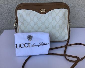 85eb693c6d4 Authentic Vintage Gucci Shoulder Bag Clutch Excellent Exterior Condition w   Original Dust Bag