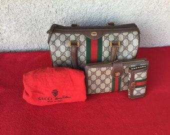 fd6c70a3bad Authentic Vintage Gucci Boston Doctog Bag