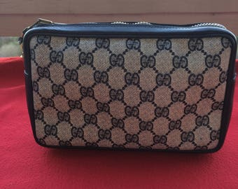 882a3f11 Gucci cosmetic bag | Etsy
