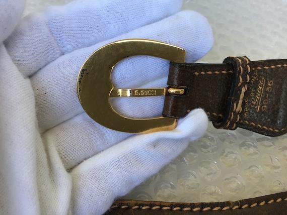 Vintage Gucci '70s Belt with Damage - image 4
