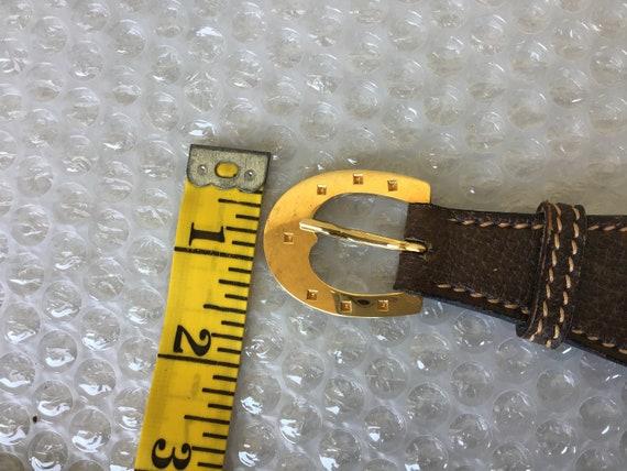 Vintage Gucci '70s Belt with Damage - image 6