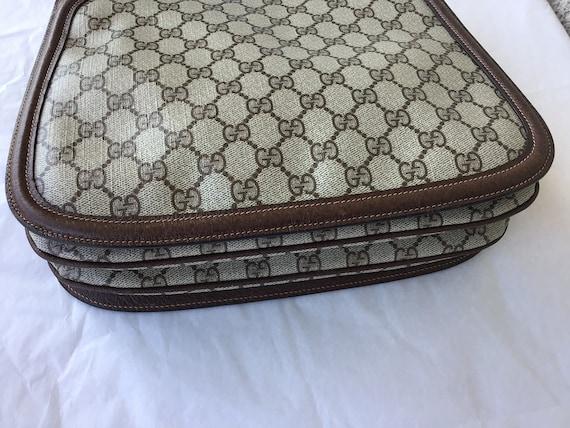 Vintage Gucci '70's Blondie Brown Canvas Bag Exce… - image 6