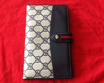 Authentic Gucci Vintage Trifold Wallet/Clutch