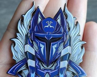 Mando Soka Pin, Mando Helmet, by TomorrowlandDesign
