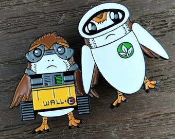 Robot Porg Pins, Fantasy Pin, Trading Pin, Enamel Pin, SeeYaEarSoon, TomorrowlandDesign