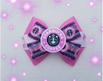 Coffee hairbow