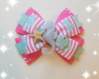 Sea Horse Hairbow