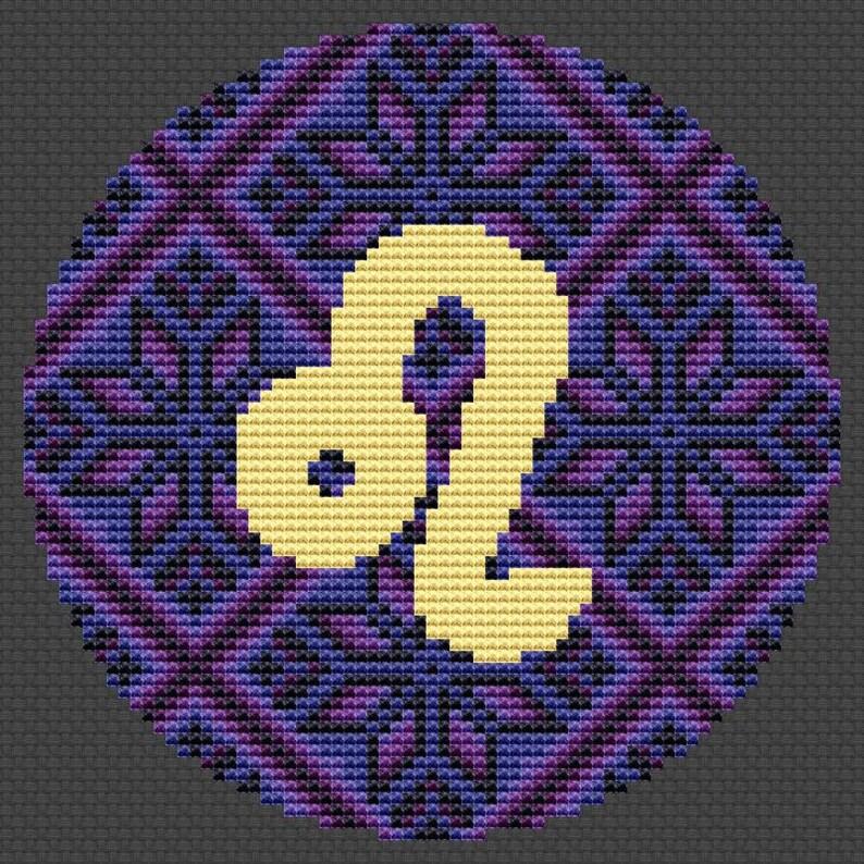 Cross stitch pattern Modern Xmas gift diy Zodiac sign cross stitch Horoscope gift Gemini cross stitch Ukrainian embroidery Nordic decor diy