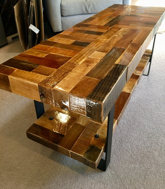 Admirable Farmhouse Bench Reclaimed Wood Rustic Furniture Entry Bench Barn Wood Metal Legs Machost Co Dining Chair Design Ideas Machostcouk