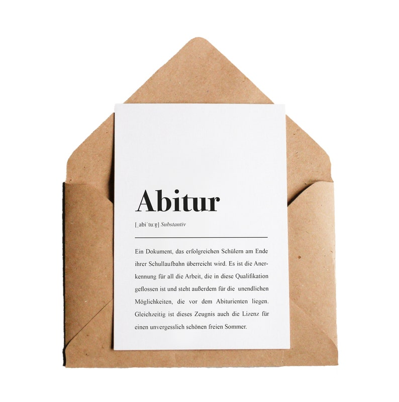 Abitur Meaning
