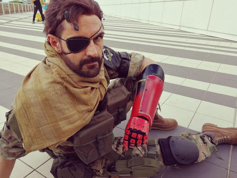 Big Boss' bionic arm 3D model!