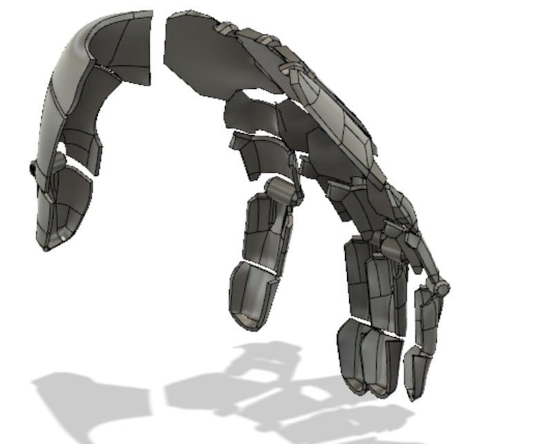 Genji robotic hand 3D PRINTING FILES