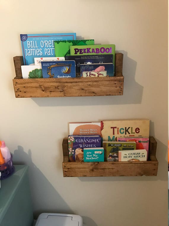Single Nursery Bookshelf Book Shelf