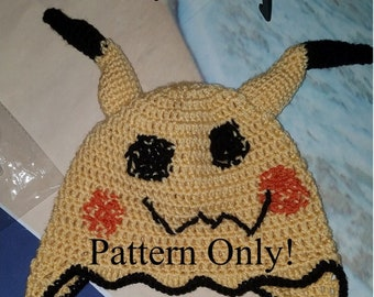 84feac5cd77 Pokémon Go Inspired Mimikyu Hat Crochet Pattern